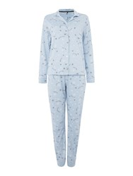 Therapy Decembrrr Pj Set Blue