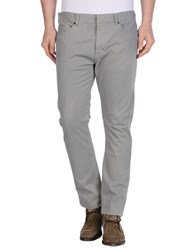 Ring Trousers Casual Trousers Men Light Grey