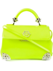 Philipp Plein Medium 'Funtastic' Shoulder Bag Yellow And Orange