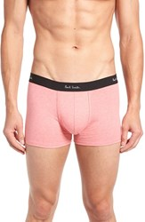 Paul Smith Men's Cotton Trunks Pink