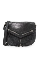 Botkier Trigger Saddle Bag Black