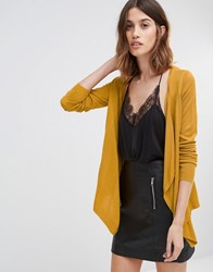 Vero Moda Waterfall Cardigan Harvest Gold
