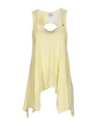 Only 4 Stylish Girls By Patrizia Pepe Tops Light Yellow