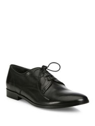 Vince Maye Leather Lace Up Oxfords Black