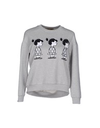 Peter Jensen Topwear Sweatshirts Women Grey