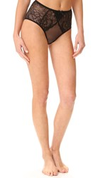 Agent Provocateur Leola High Waisted Briefs Black