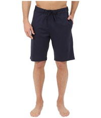 Hanro Night Day Short Pants Black Iris Navy Men's Pajama