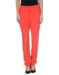 Trussardi Casual Pants Red
