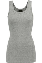 By Malene Birger Dawn Stretch Jersey Tank Gray