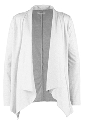 Zalando Essentials Cardigan Light Grey Melange Mottled Light Grey