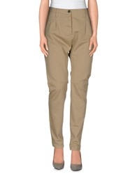 Novemb3r Denim Denim Trousers Women Khaki