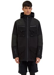 7L Soft Shell Layer Parka Jacket Black
