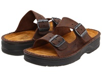 Naot Footwear Mikaela Crazy Horse Leather Women's Sandals Brown