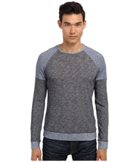 Vince L S Color Blocked Crew Neck