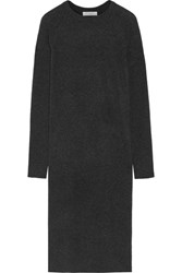 Equipment Willy Cashmere Sweater Dress Charcoal