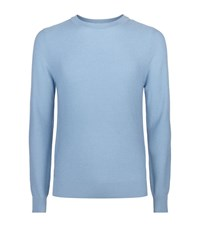 Sandro Cypher Textured Jumper Male Blue