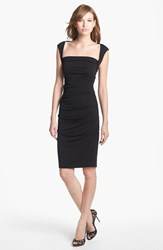 Women's Nicole Miller Ruched Jersey Pencil Dress