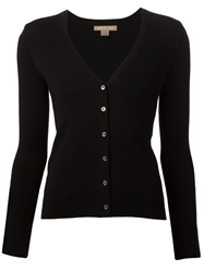 Michael Kors V Neck Cashmere Black