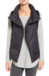 Eileen Fisher Women's Mixed Media Funnel Neck Vest