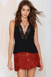 Nasty Gal Halter At Me Crochet Top