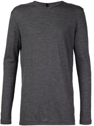 Forme D'expression Round Neck Sweater Grey