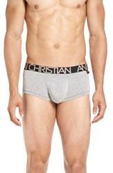 Andrew Christian Men's 'Almost Naked Premium' Stretch Briefs Heather Grey