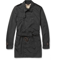 Showerproof Trench Coat Black