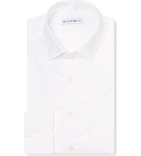 Etro Slim Fit Cotton Shirt Wht