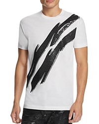Dsquared2 Sequin Lightning Bolt Graphic Tee White