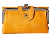 Hobo Alice Saffron Wallet Handbags Orange