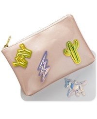 Twelvenyc Whimsical Shop Hologram Patch And Pouch Set Multi