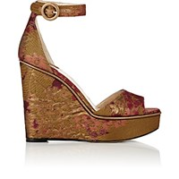 Paul Andrew Women's Adalet Platform Wedge Sandals Gold