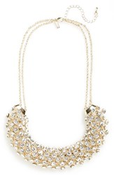 Women's Topshop Rhinestone Collar Necklace
