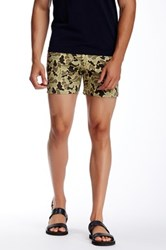 Parke And Ronen Camo Print Holler Short Green