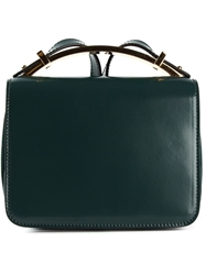 Marni 'Sculpture' Satchel Green