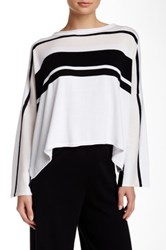 Planet Bell Sleeve Stripe Pullover