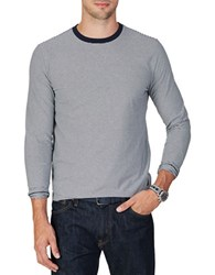 Nautica Classic Fit Long Sleeve Tee Navy