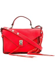 Rebecca Minkoff Small 'Darren' Messenger Bag Red