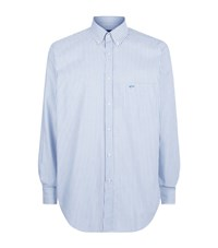 Paul And Shark Classic Striped Oxford Shirt Male White