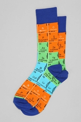 Urban Outfitters Periodic Table Sock Yellow