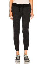 James Perse Cashmere Genie Pants In Gray