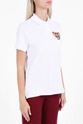 Paul And Joe Sister Pocket 'Jerry' Print Polo Shirt White