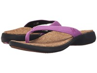Sole Cork Flips Orchid Women's Sandals Purple