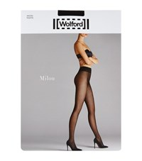 Wolford Milou Fishnet Tights Female Black