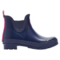 Joules Wellibob Short Rubber Boots Navy