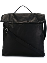 Maison Martin Margiela Foldover Messenger Bag Black