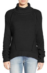 Joe's Jeans Women's Joe's 'Akasha' Turtleneck Sweater Black