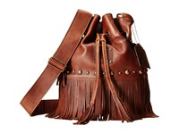 Sts Ranchwear The Free Spirit Bucket Bag Saddle Brown Handbags