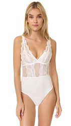 La Perla Jazz Time Bodysuit White