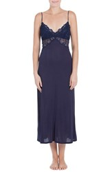 Jonquil Women's Lace Inset Knit Nightgown